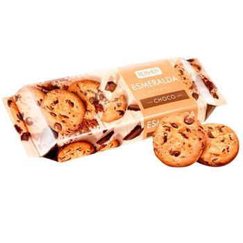 Печиво Roshen Есмеральда з шоколадними кусочками 150г