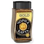 Кофе Чорна Карта Gold растворимый 95г