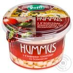 YoFi! With Basil And Dried Tomatos Hummus 250g - buy, prices for Novus - image 1