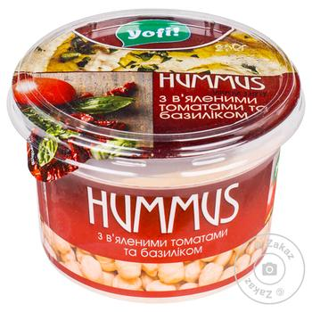 YoFi! With Basil And Dried Tomatos Hummus 250g - buy, prices for MegaMarket - image 1