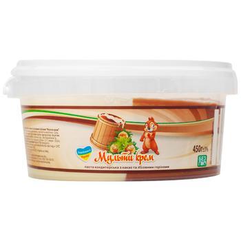 Паста Мульти Крем кондитерская с какао и лесными орехами 450г - купить, цены на ЕКО Маркет - фото 1