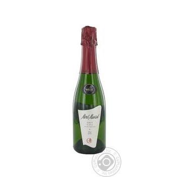 Вино игристое Монт маркал брют 11.5% 375мл стеклянная бутылка