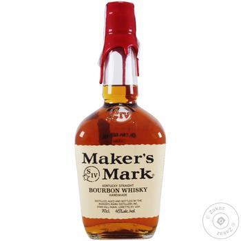 Віскі Maker's Mark 45% 700мл - купити, ціни на МегаМаркет - фото 1