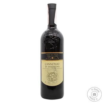Вино Terre dell Isola Cannonau Di Sardegna красное сухое 13.5% 0.75л