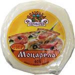 Сыр моцарелла Полесская сыроварня 40%