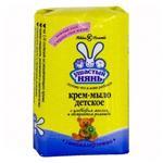 Мыло детское Ушастый нянь с оливковым маслом и ромашкой 90г