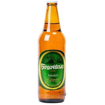 Berdychivske Hmilne Light Beer 3,7% 0,5l