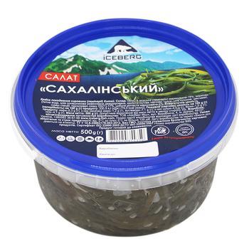 Салат Айсберг Сахалинский из морской капусты 500г - купить, цены на Varus - фото 1