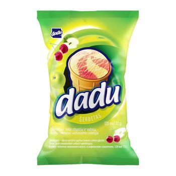 Dadu Apple-Cherry Ice Cream in Waffle Cup 125ml