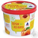 Персик Рудь Red Heaven перетертый и быстрозамороженный 100г