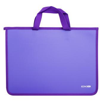 Портфель Economix пластиковий на блискавці
