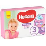 Підгузки трусики Huggies Pants для дівчат 58шт