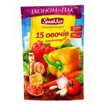 Приправа Smakko 15 овощей и пряностей универсальн 160г
