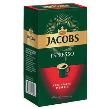 Кава мелена Jacobs Monarch Еспресо  230г - купити, ціни на CітіМаркет - фото 1