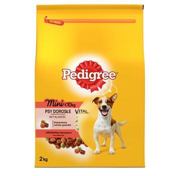Корм  Pedigree для маленьких собак с говядиной и овощами 2кг - купить, цены на Ашан - фото 1