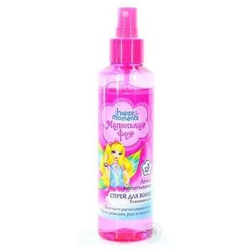 Спрей для волос Маленькая Фея Детский Легкое расчесывание 160мл - купить, цены на Novus - фото 1