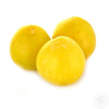 Слива желтая весовая