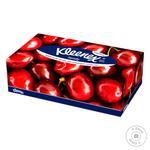 Салфетки Family Kleenex в коробке 150шт