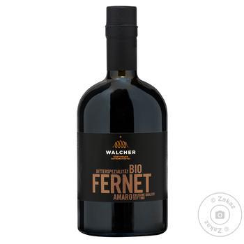 Биттер Walcher Fernet 38% 0,5л