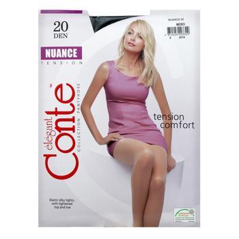 Колготи жіночі Conte Nuance 20ден р.4 Nero - купити, ціни на CітіМаркет - фото 3