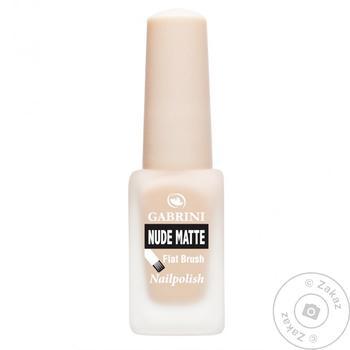 Лак для ногтей Gabrini Nude Matte