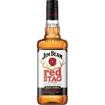 Whiskey Jim Beam Red Stag Black Cherry 40% 0,7l - buy, prices for Novus - image 1