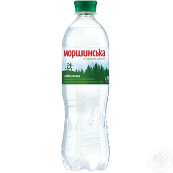 Light sparkling mineral water Morshynska 0,75l - buy, prices for Novus - image 1