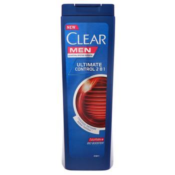 Шампунь Clear Men Ultimate Control 2в1 для мужчин 400мл