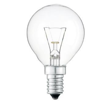 Лампа Іскра Куля електрична прозора PS45-230в 60вт Е14 - купити, ціни на МегаМаркет - фото 4