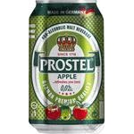 Beer Prostel with apple non-alcoholic 0% 330ml can Germany
