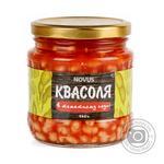 Квасоля ніжна в томатному соусі Novus с/б 460г