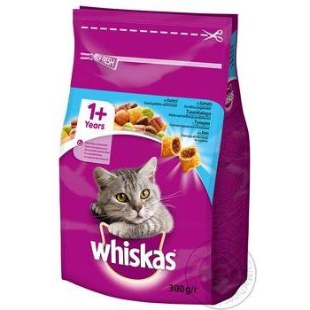 Корм сухой Whiskas для взрослых кошек с тунцом 300г - купить, цены на Novus - фото 2