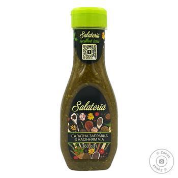 Заправка салатна соєва з насінням Чіа Salateria 360г