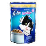 Felix Fantastic Junior Chicken Canned For Kittens Food 100g