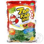 Снеки из нори Tao Kae Noi Hot & Spicy хрустящие с чили 15г
