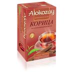 Чай Alokozay 100% натуральний цейлонський чорний Кориця пакетований 25шт 50г