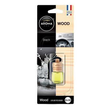 Ароматизатор воздуха Aroma wood black для авто 6мл - купить, цены на Таврия В - фото 1