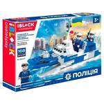 Игрушка Iblock Конструктор Полиция 168 деталей