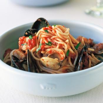 Спагеті марінара