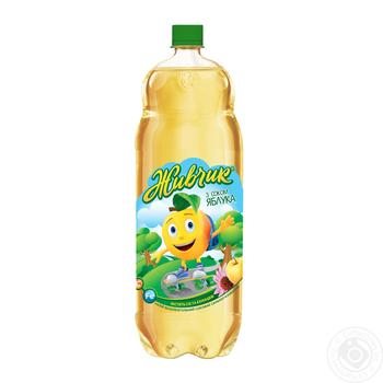 Zhivchik with apple juice non-alcoholic juice-containing sparkling drink 2l - buy, prices for Novus - image 1