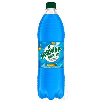 Напій Mirinda Чорниця апельсин сильногазований безалкогольний 1л - купити, ціни на МегаМаркет - фото 1