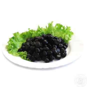 Оливки Amalihia вялені чорні - купити, ціни на Фуршет - фото 1
