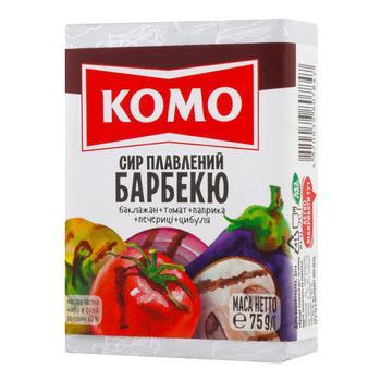 Сыр Комо Барбекю плавленый 40% 75г