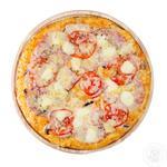 Піца з ананасами та шинкою