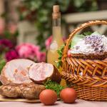 Набор продуктов для средней корзины