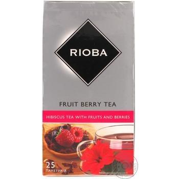 Чай Rioba фрутовый 25шт*1.5г