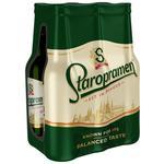 Пиво Staropramen світле 6*0,5л скло