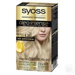 SYOSS Oleo Intense 0-50 Smokey blonde ammonia free hair due 115ml
