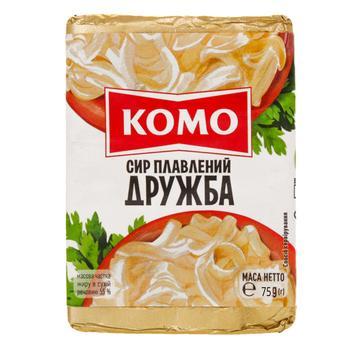Сир плавлений Комо Дружба 55% 75г - купити, ціни на Novus - фото 2