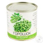 Горошек зеленый консервированный 420г - купить, цены на Таврия В - фото 1